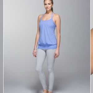 Lululemon flow & Go tank in lullaby size 6
